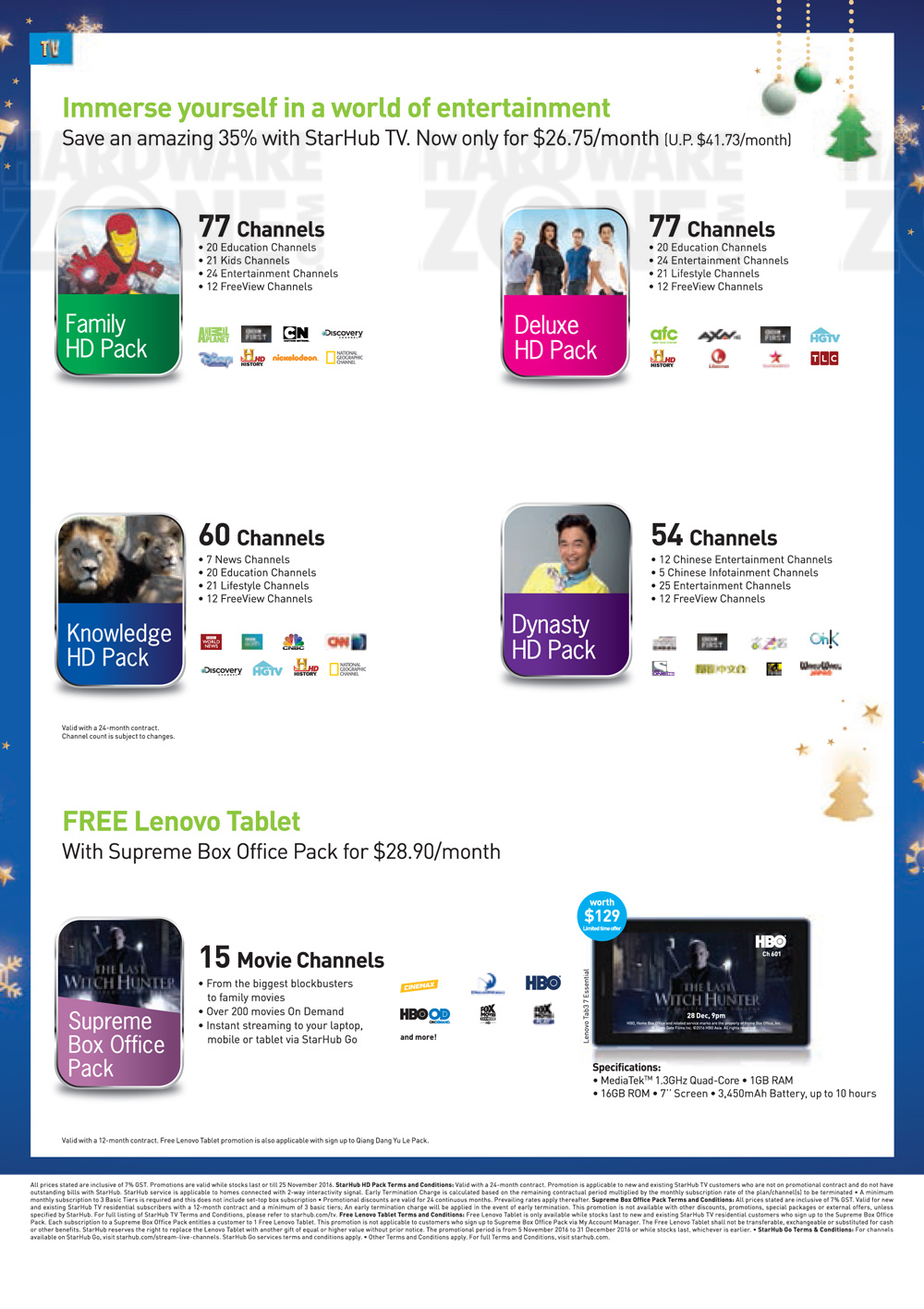 StarHub Consumer - Pg 7 Brochures from SITEX 2016 Singapore