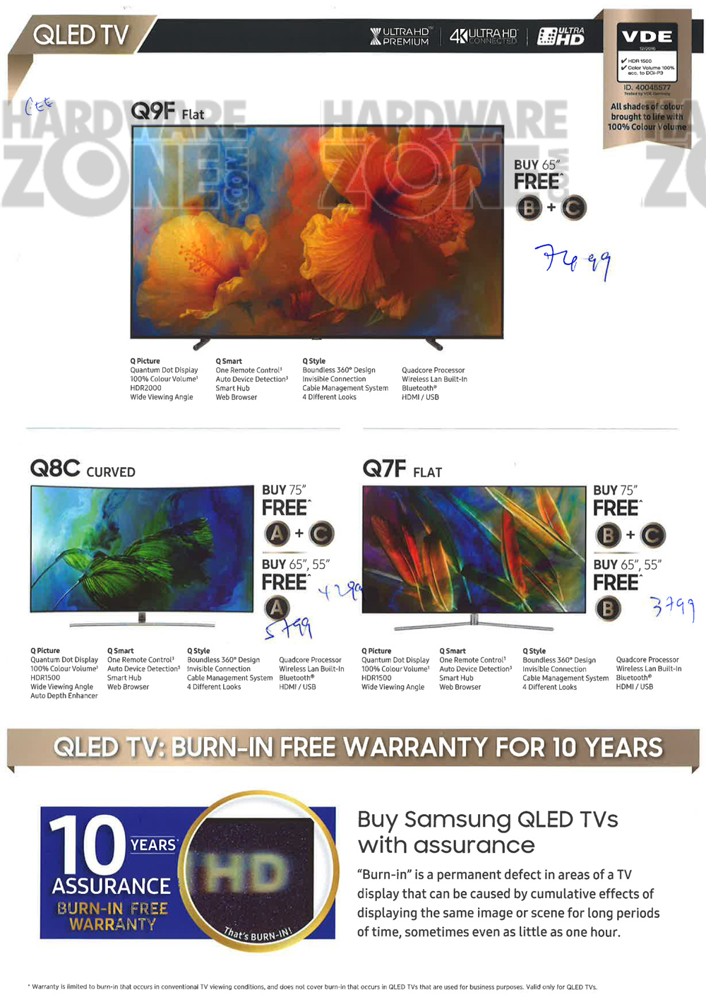 Samsung TVs - page 2 Brochures from CEE 2017 Singapore on