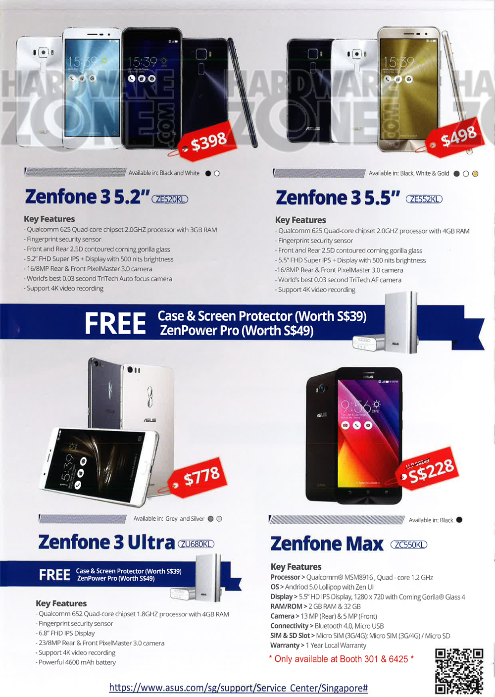 Asus gaming desktops amp monitors brochures from cee show 2016 singapore - Asus Zenfone Page 2