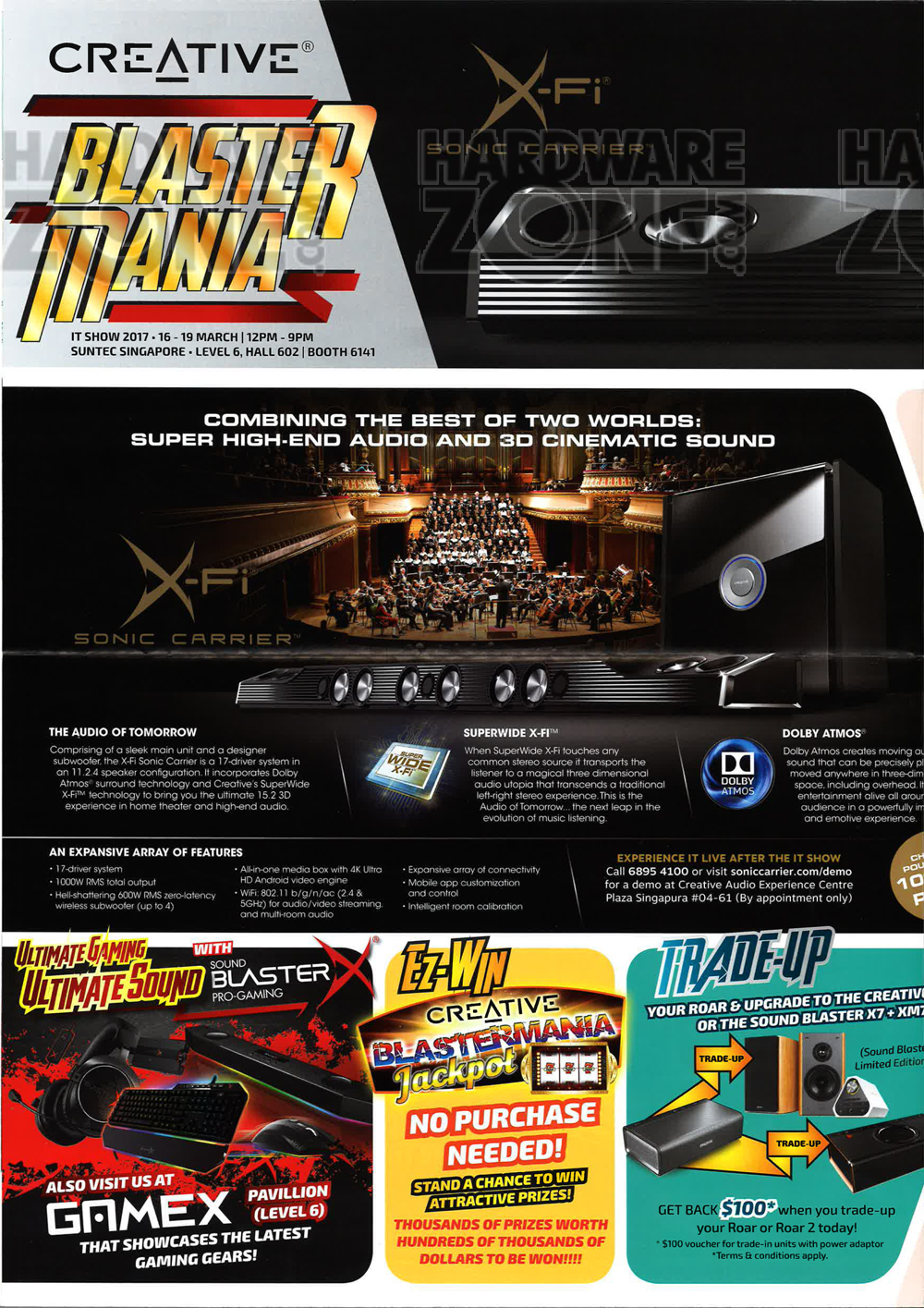 Asus gaming desktops amp monitors brochures from cee show 2016 singapore - Creative Page 1