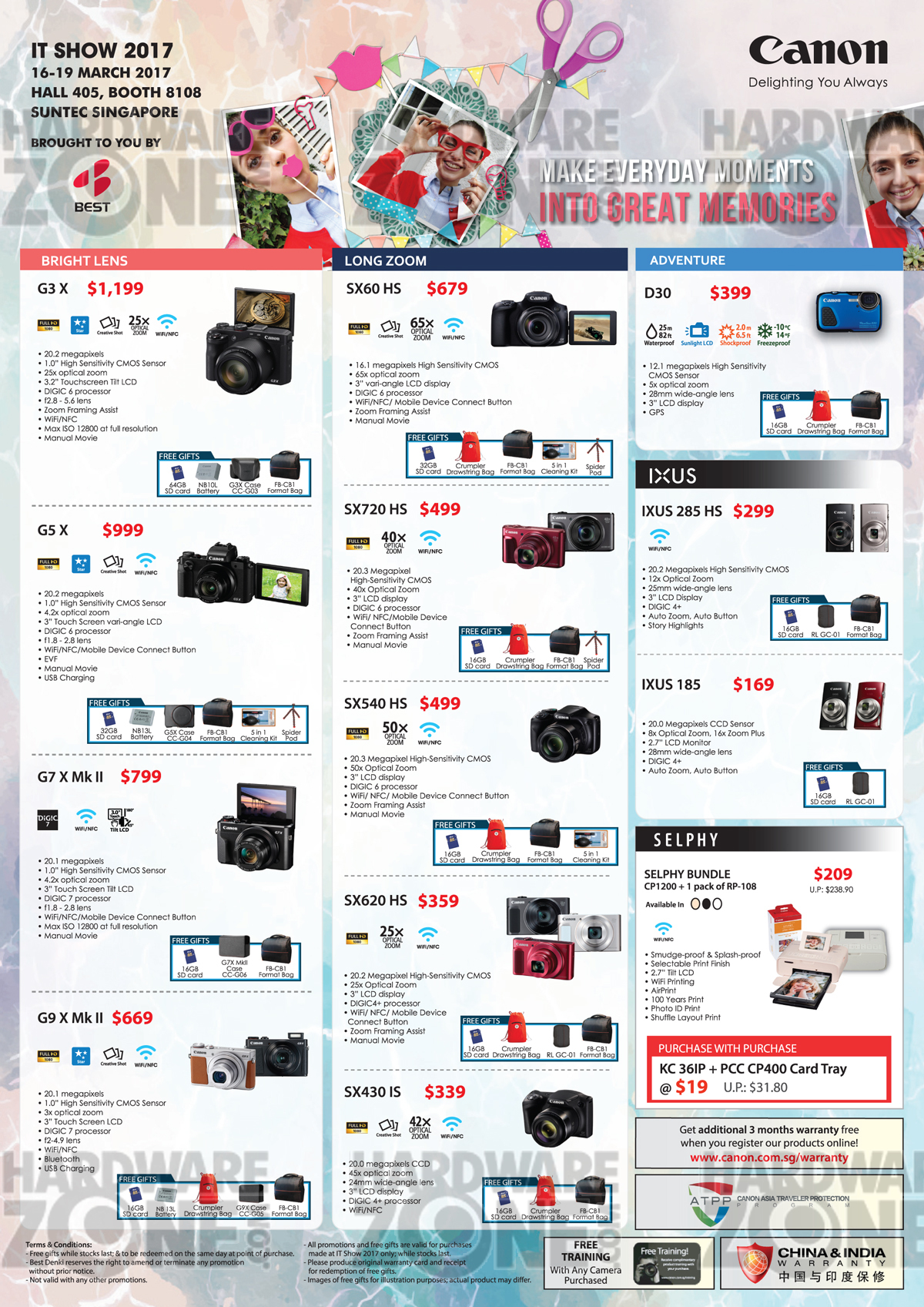 Canon cameras - page 1 Brochures from IT Show 2017 ...
