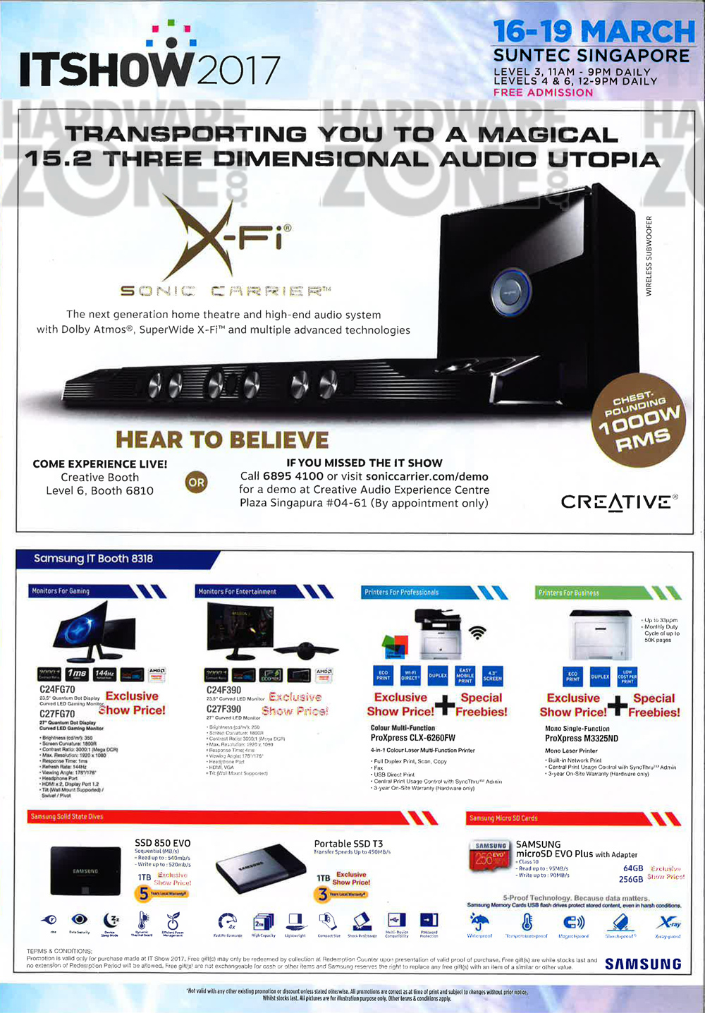 Asus gaming desktops amp monitors brochures from cee show 2016 singapore - It Show 2017 Brochure Pg 03