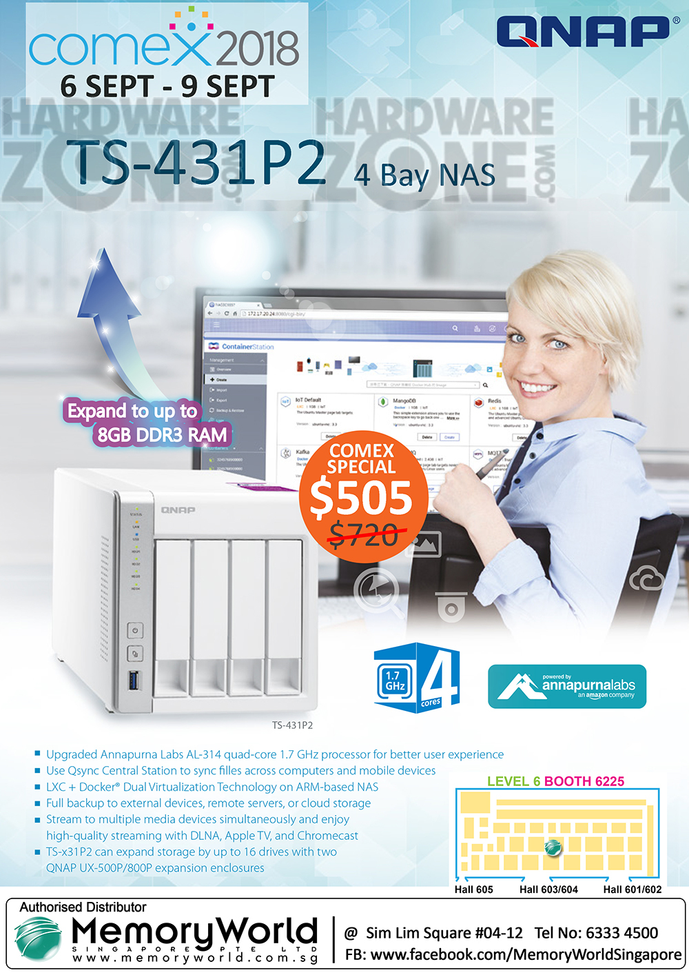 QNAP NAS - page 5 Brochures from COMEX 2018 Singapore on
