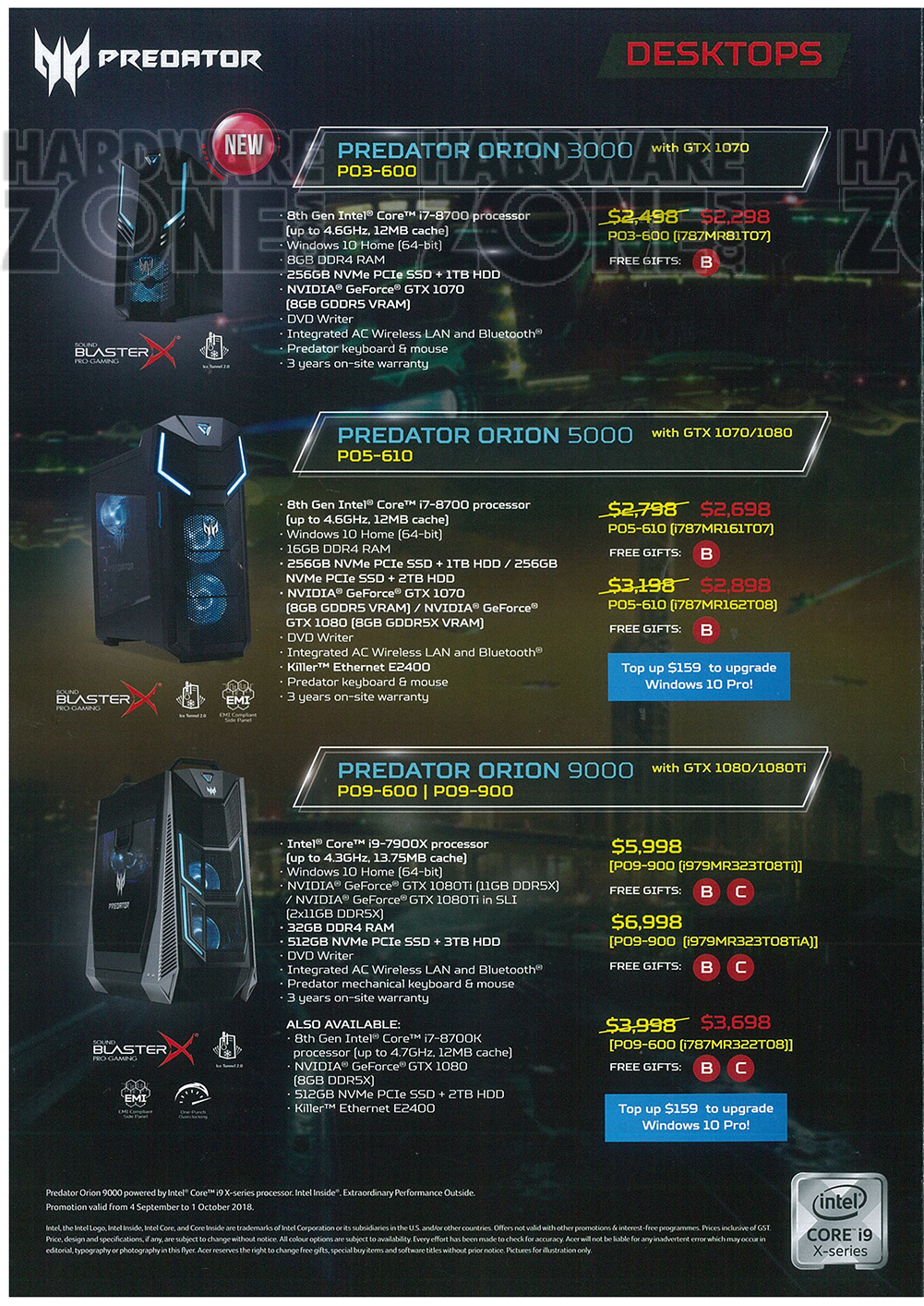Acer Predator - page 2 Brochures from COMEX 2018 Singapore on Tech