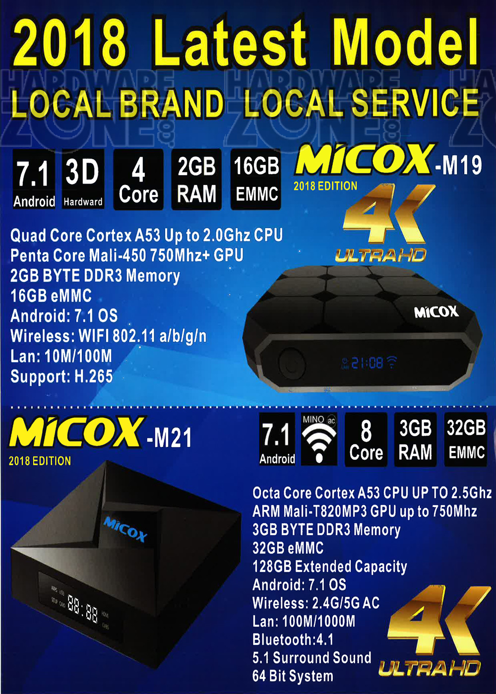 Micox - Pg 1 Brochures from IT Show 2018 Singapore on Tech