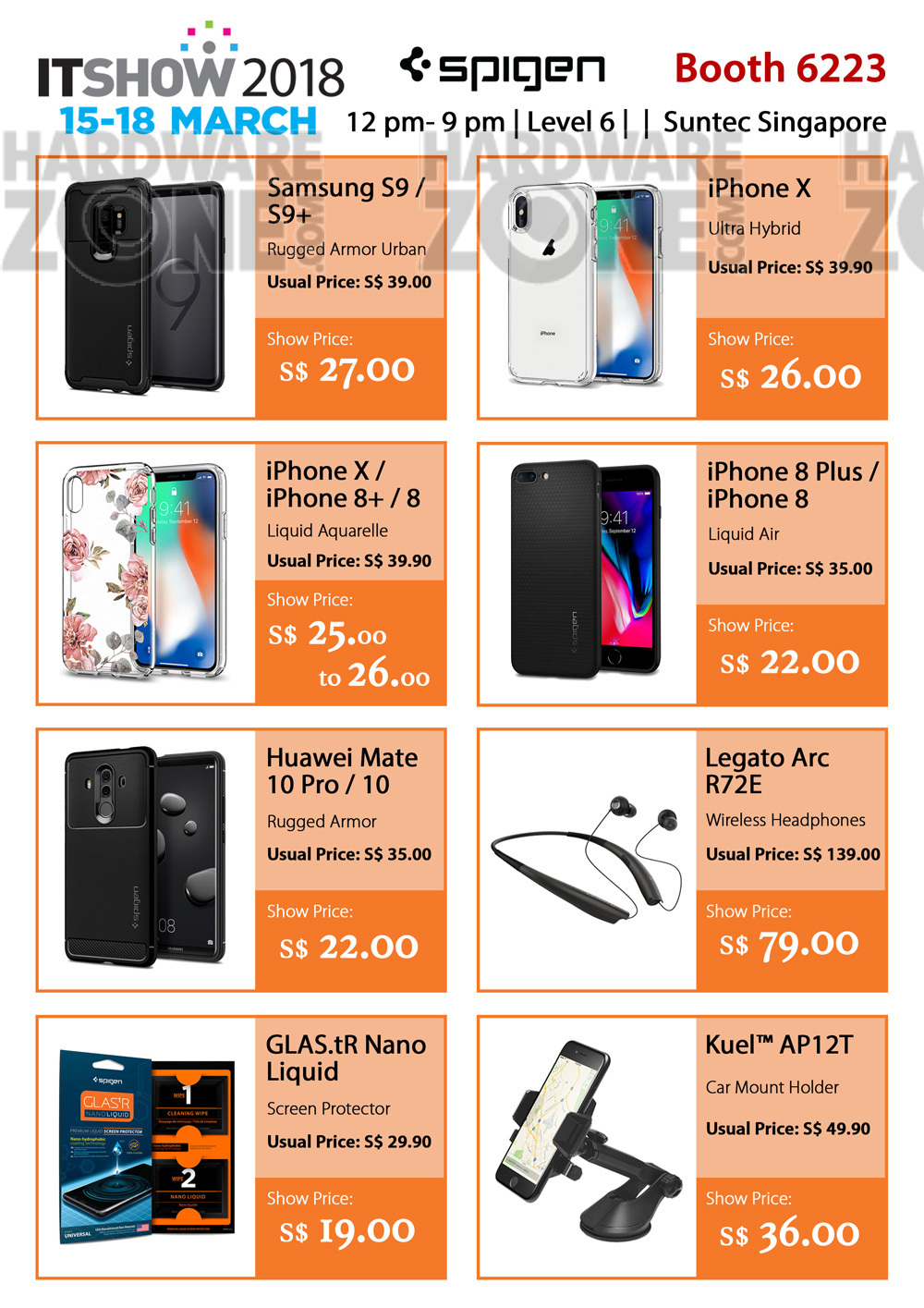 Spigen Brochures From IT Show Singapore On Tech Show Portal - Car pro show phone number