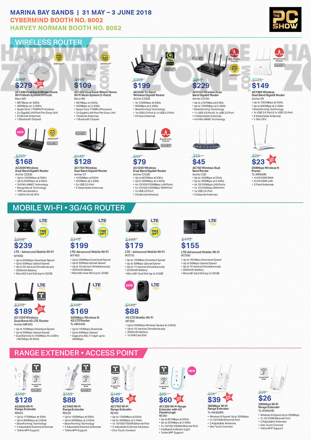 TP-Link - page 2 Brochures from PC Show 2018 on Tech Show Portal