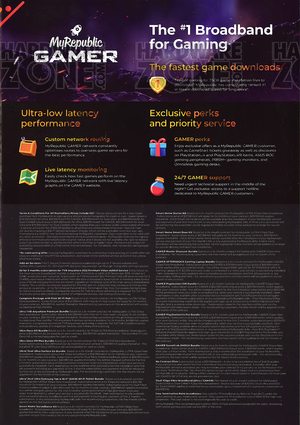MyRepublic - page 4 Brochures from The Tech Show 2018 Singapore on