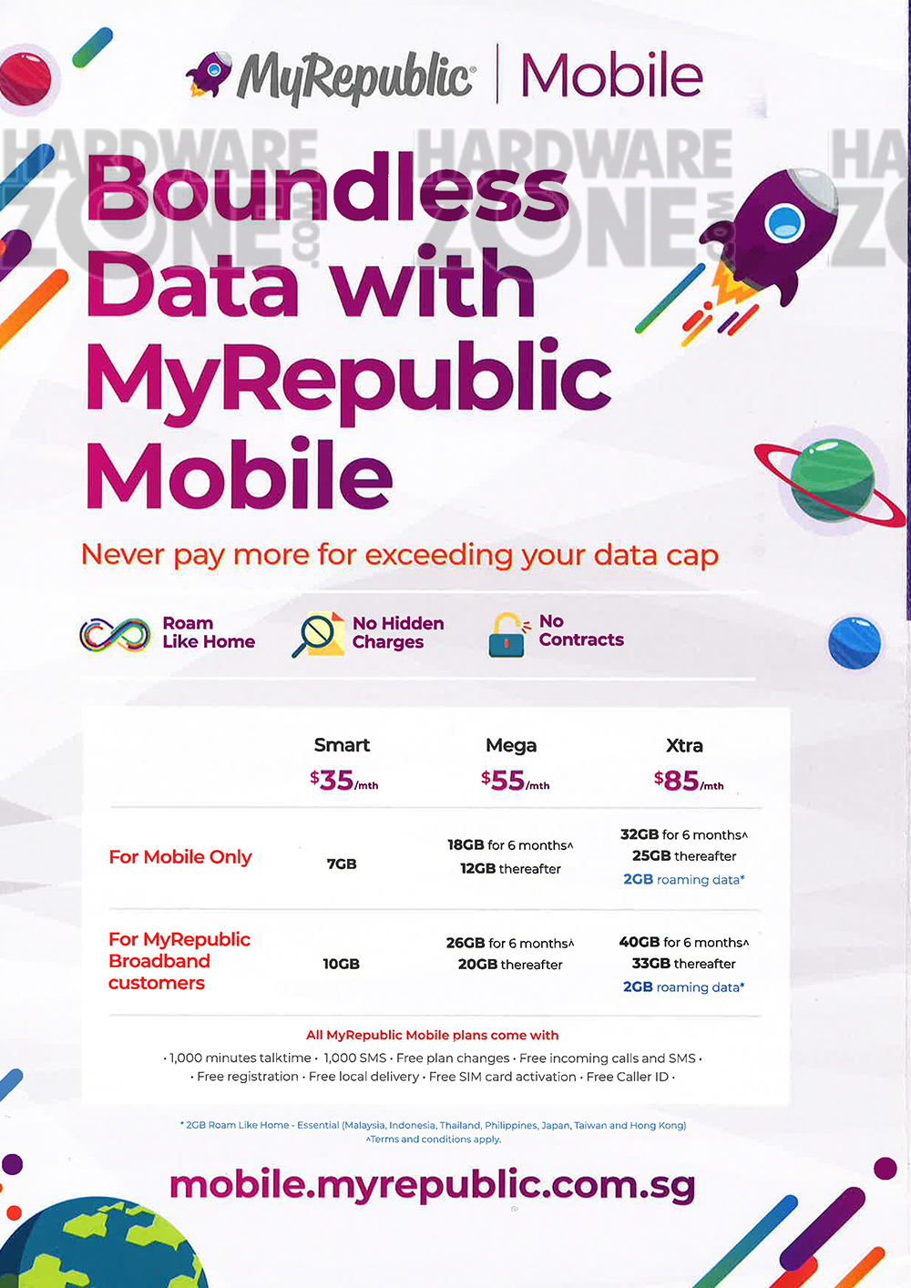 MyRepublic - page 6 Brochures from The Tech Show 2018 Singapore on