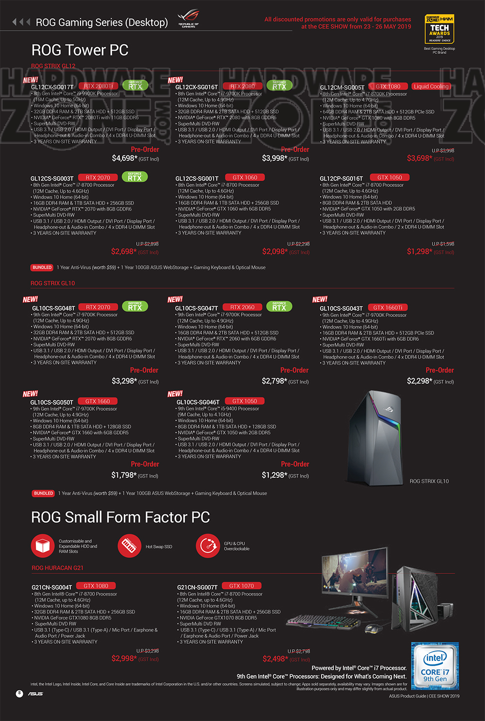 ASUS Product Guide - Pg 08 Brochures from CEE 2019 on Tech Show