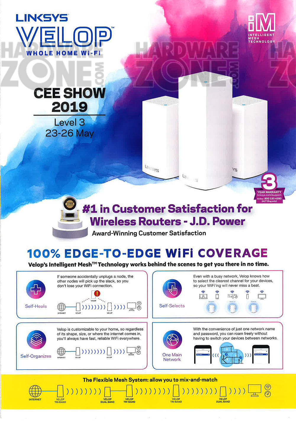Linksys - pg 1 Brochures from CEE 2019 on Tech Show Portal