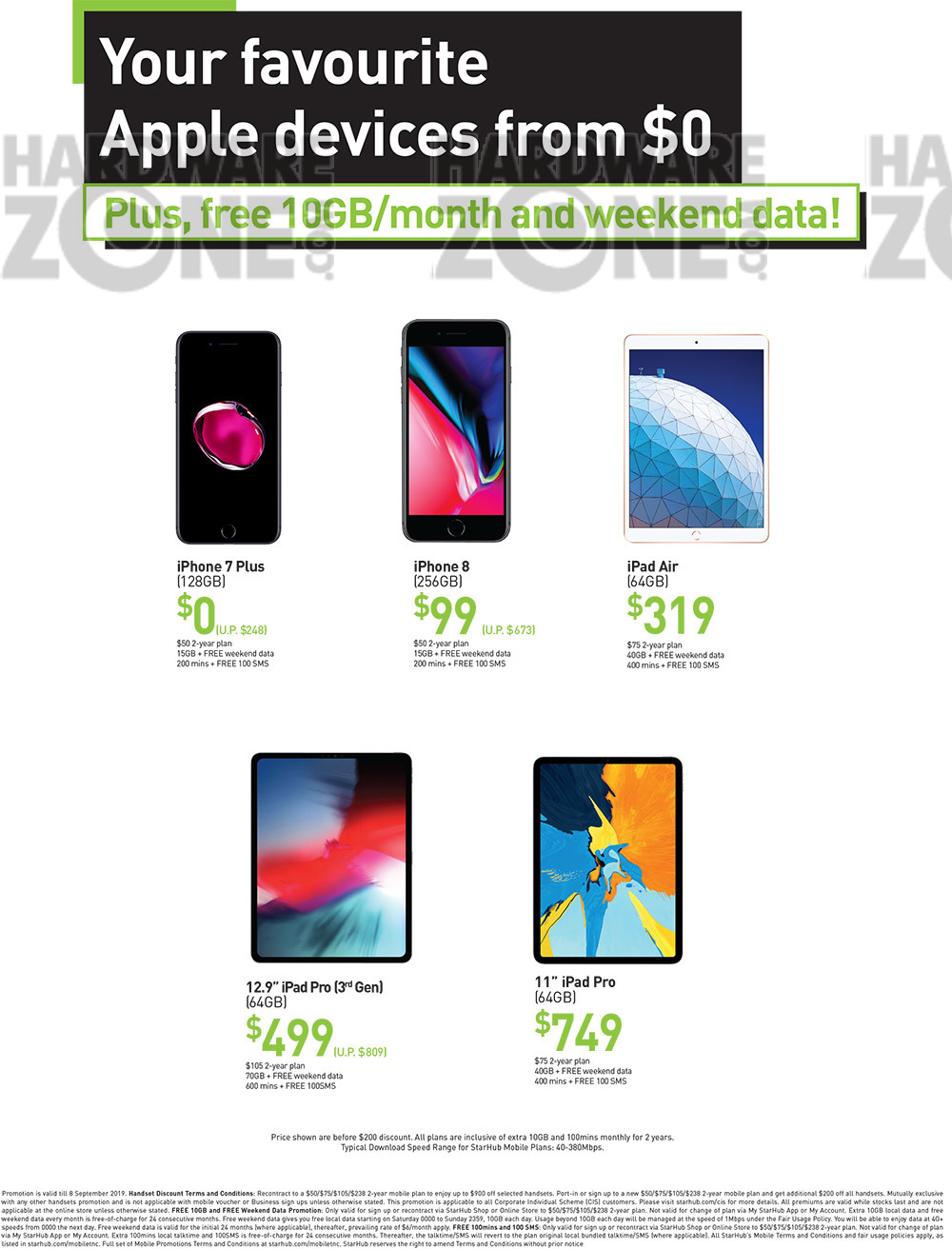 StarHub - page 2 Brochures from COMEX 2019 Singapore on Tech