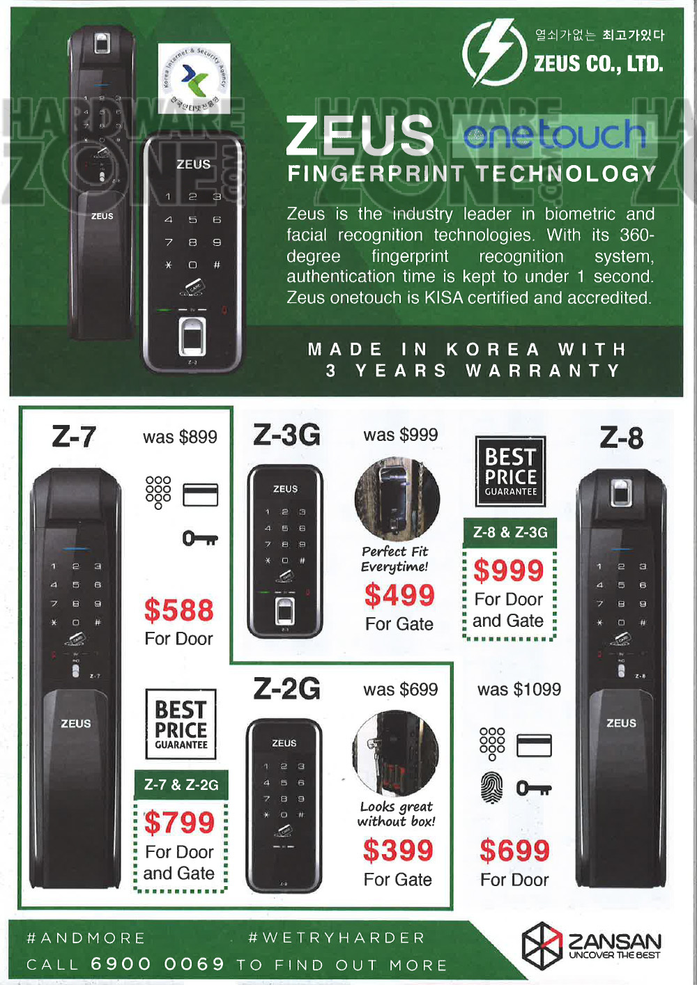 Zansan digital locks - pg 6