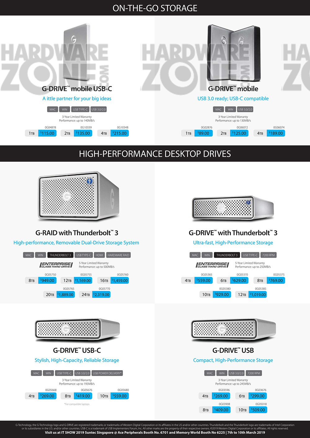 G-Tech external drives - pg.2