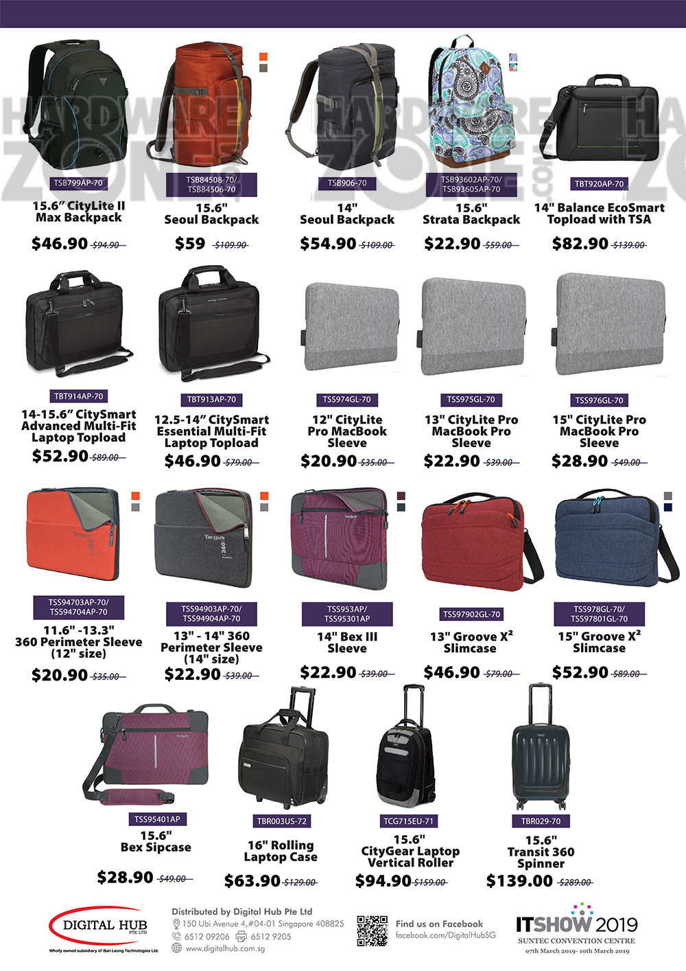 Targus bags - page 3