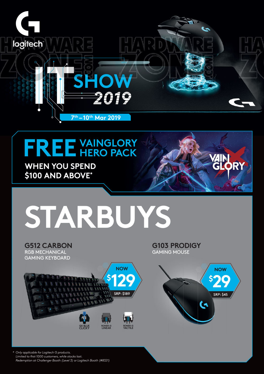 Logitech - Pg 3 Brochures from IT Show 2019 Singapore on Tech Show