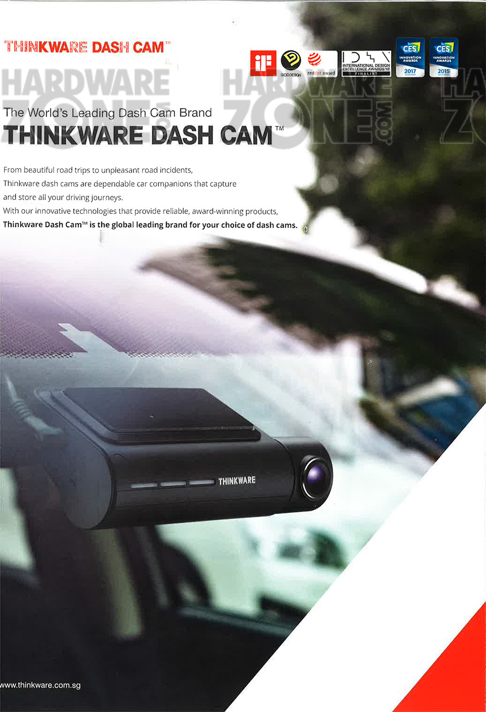 Thinkware dashcam - page 1
