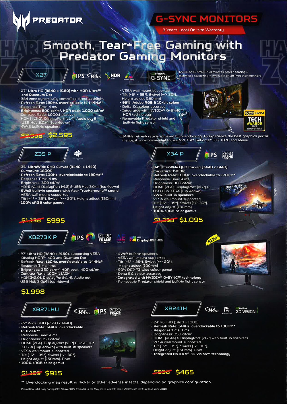 Acer monitors - page 4 Brochures from PC Show 2019 on Tech Show