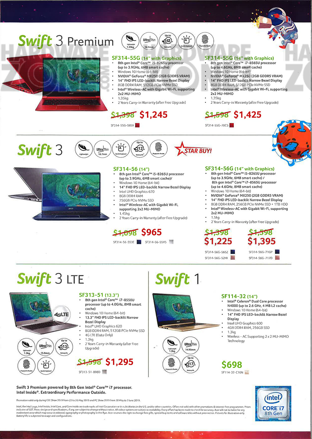 Acer notebooks - page 3
