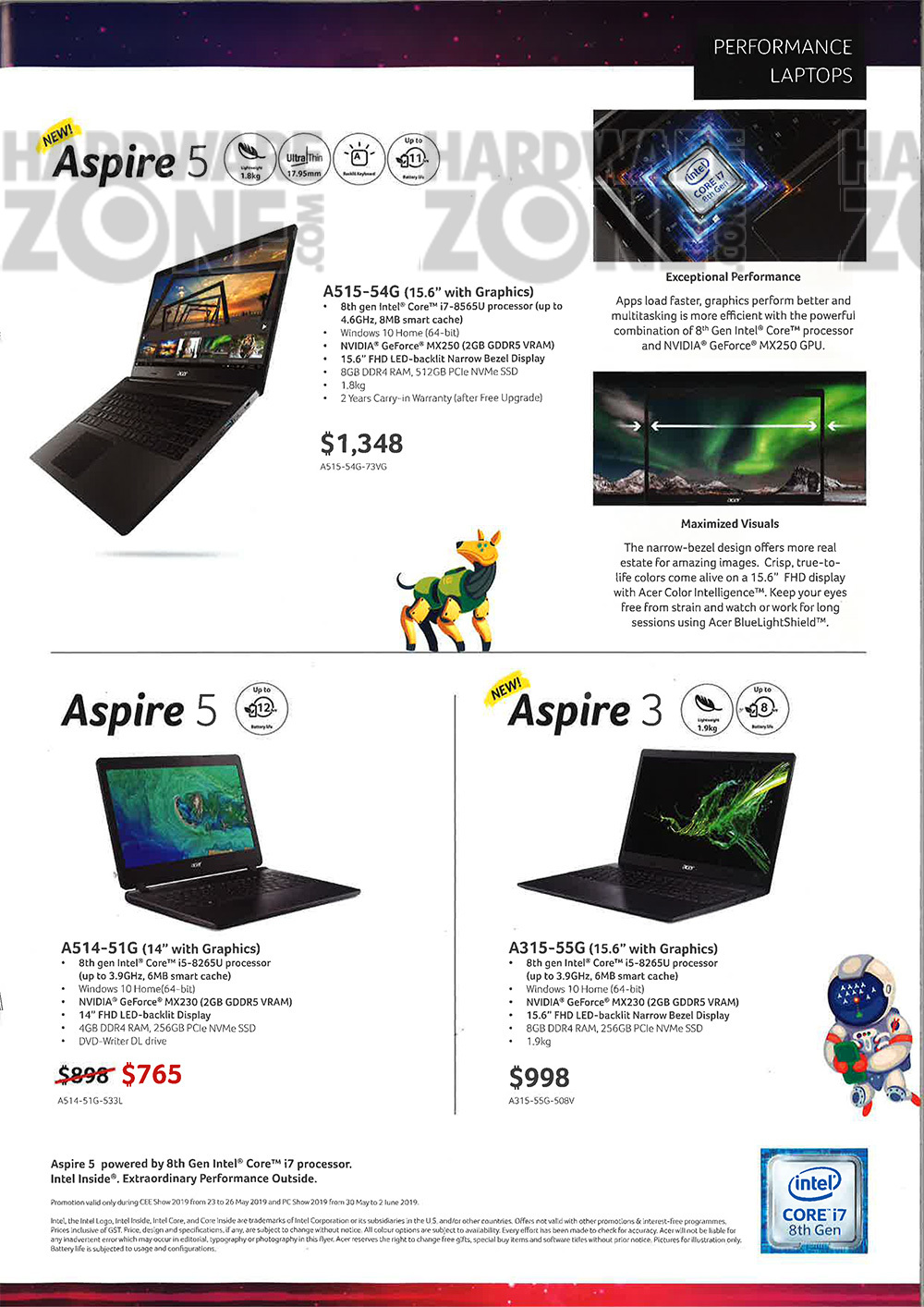 Acer notebooks - page 5
