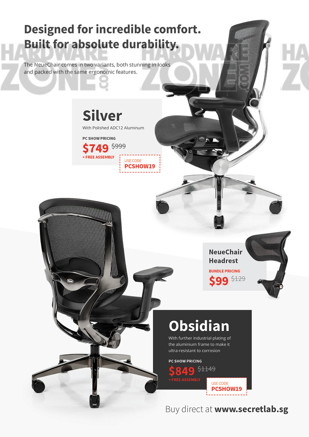 Neue chair - page 3 Brochures from PC Show 2019 on Tech Show