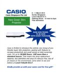Casio Projectors - Page 4