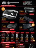 Cooler Master CMstorm Keyboard and Mice