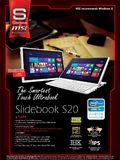 MSI Slidebook S20 Ultrabook