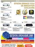 Epson projectors - page 1