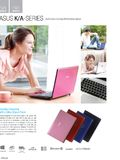 ASUS K/A-series notebooks - page 1
