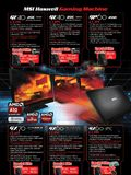 MSI gaming notebooks - page 3