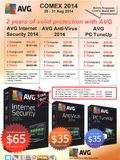 AVG antivirus / internet security