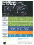 Canon camera extended warranty - page 1