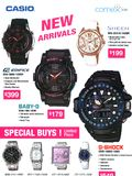 Casio watches - page 1