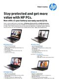 HP business notebooks - page 1