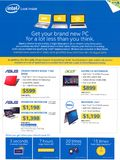 Intel notebook offers