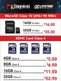 Kingston microSD Cards - Page 2