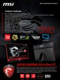 MSI gaming AIO PC - page 1