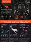 Plantronics Gaming & BT Headsets - Page 1