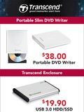 Transcend DVD Writer & HDD Enclosure