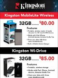 Kingston Wi-Drive, MobileLite Wireless