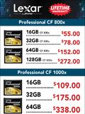 Lexar flash memory cards - page 4