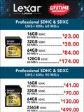 Lexar flash memory cards - page 5