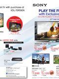 Sony TVs - page 1