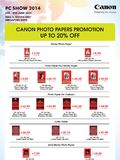 Canon Inkjet printers - page 3