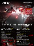 MSI Gaming Notebooks - Page 1