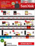 SanDisk SD Cards & Flash DrivesSanDisk SD Cards & Flash Drives - Page 1
