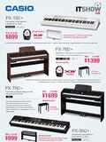 Casio Musical Instruments - Page 1