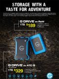 G Tech Rugged Storage