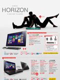Lenovo Horizon AIO & Gaming Notebooks